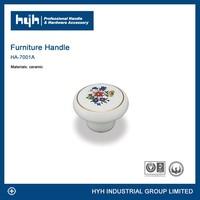High quality ceramic furniture knobs / fancy ceramic bedroom furniture drawer knob