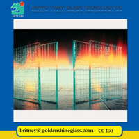 Jinyao High quality laminated glass, fireproof glass construction