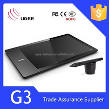 Stock Digital Signature Tablet USB Connect 2048 Pressure Sensitive 9 Inch Ugee G3