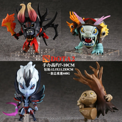 New Style Dota 2 Action Figure For Dota figure set of 4pcs