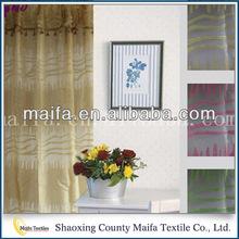 Fabricante profesional de primera calidad elegantes cortinas de ventana en triángulo.