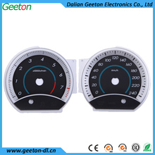 OEM 2D Light Transmission Automotive Motorcycle Speedometer