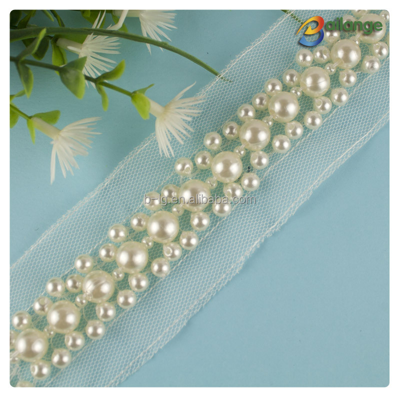 Trade Assurance Supplier Hot Selling Bead Trimmingbead Embroidery