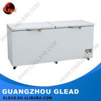 700L R134a Refrigerant propane chest deep freezers