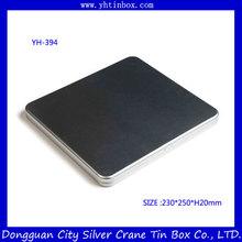 metallo colore scatola di latta penna