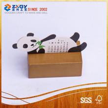 wooden manu holder square wooden base