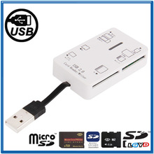 All in One High Speed USB 2.0 SD XD card reader