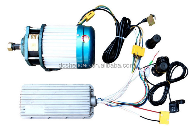 Long Life High Speed Bldc Motor For Electric Vehicle 48v