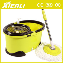 Steel pole material and PP mop head material spin magic mop