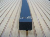 molding plastic product with high quality,window rubber profile made by foam CR strip