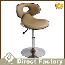 Best-selling luxury golden club stool