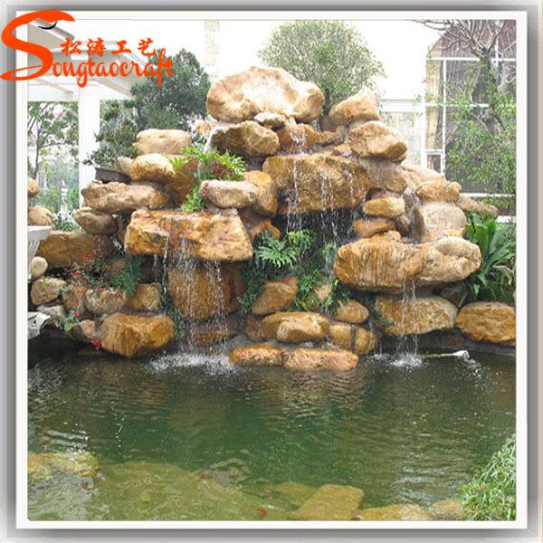 Vortex fontein zwembad waterval fontein met pomp outdoor for Fontana artificiale