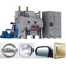 High quality Evaporation vacuum coating equipment coating chrome on plastic substrate