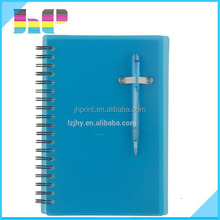 2015 China mainland attractive design great quality spiral notebook printing