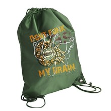 "Fashionable Colorful ""Brain"" New Design Felt Laundry Unisex 210D 420D 34*43cm Polyester Drawstring Bag"