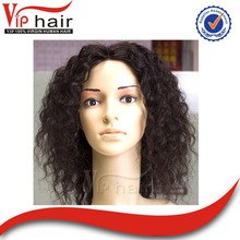 High quality virgin afro kinky human hair wig