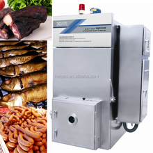 Stainless steel meat smoker machine
