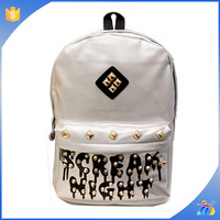china fashion school book bags,blue backpack