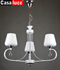 New item 2015 crystal white chandelier lamp of good quality