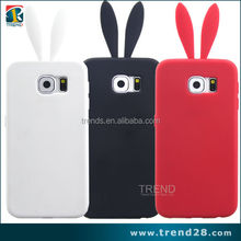 2015 animal shaped silicone phone case for samsung galaxy s6, wholesale cell phone accessories china