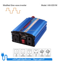 350w modified sine small size full power car 60hz 350w 120v dc to ac power inverter for single phase motors for solar panel