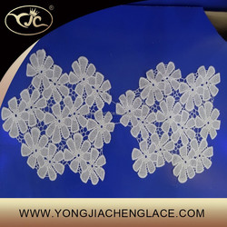 YJC18191 lace embroidery flower lace