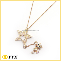 new fashion rhinestone beautiful style new gold chain design girls