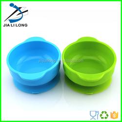 LFGB food grade silicone baby dinnner dessert suction bowl
