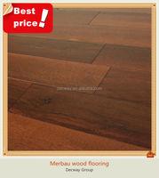 Factory prices solid merbau wood flooring