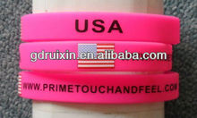 half inch flag bands with your brand