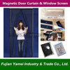 Wholesale Home Use Black Magnetic Fly Screen Door