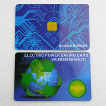 Electricity saving card/Energy saving card Reduces harmful electromagnetic radiation