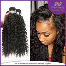 French natural virgin hair curly full wholesale