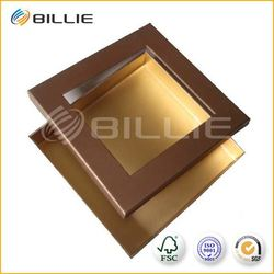 Factory China cardboard box with transparent lid