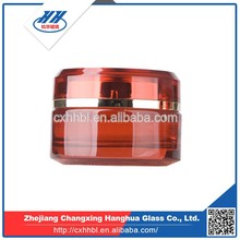 Classic glass cosmetic packaging cream bottle