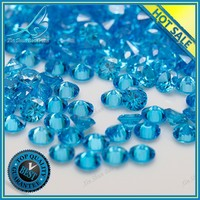 Factory sale aquamarine 1mm cubic zirconia, 1mm cz, 1mm cz loose stone