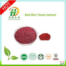 3% Red yeast rice extract Lovastatin powder,3% red rice monacolin K extract