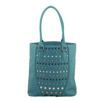 mooshroon rivet designer handbag latest women real leather lady bag