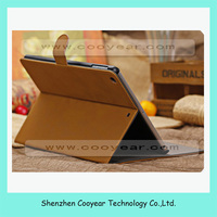New official and original flip stand leather case cover for ipad air folding filp cover case