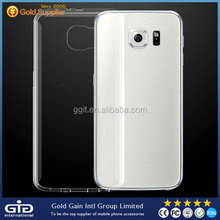 Clear Transparent Ultra Slim TPU Case for Samsung for Galaxy S6