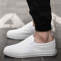 Latest chanclas men white black sneakers wholesale