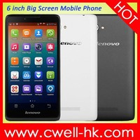 Lenovo A889 Android 4.2 MTK6582 Quad Core 6 Inch Big Touch Screen dual sim Mobile Phone