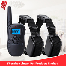 Remote Control For Two Trainer, Range Up To 300 Meters, Hot Selling Stop Barking Dog Training Shock Collar