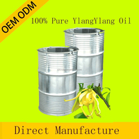OEM Pure private label ylangylang Essential Oil therapeutic grade for aroma massage oil whole sale price 180KG CAS 8002-09-3