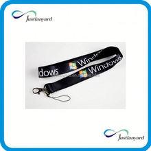 Customized custom logo lanyards marketing