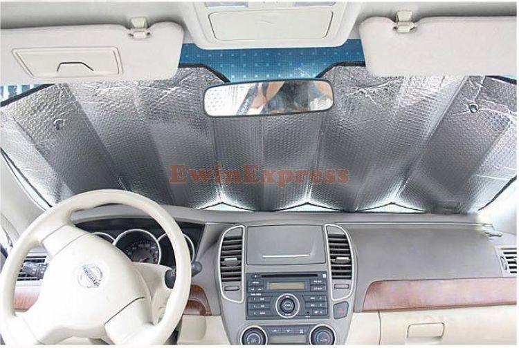 Защита от солнца для переднего стекла авто EWIN24 2 130 * 60