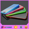 0.5mm Ultra Thin 2 in 1 PC Back Case Cover tpu frame cell phone case for iphone 6