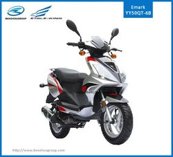 two wheel 50cc eec gas scooter