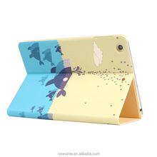 Factory price for ipad mini cover leather case for ipad mini
