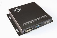 High Definition authentic uncompress VGA Signal Transmitter and Receiver, VGA Extender Over Fiber Optic Support Independent